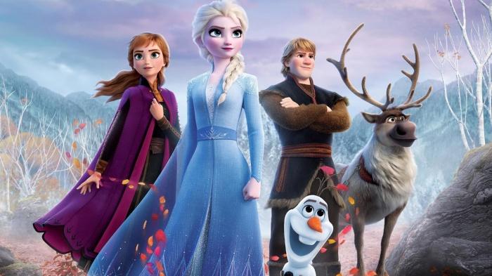 una imagen promocional frozen con princesa elsa primer plano 1574433804671