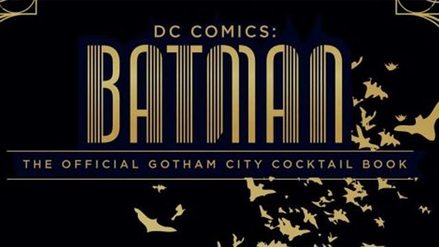 Batman Cocktail Book Cover featured
