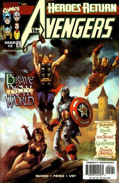 Heroes Return Vengadores