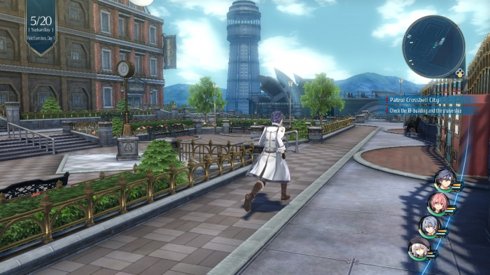 Trails of Cold Steel Overworld