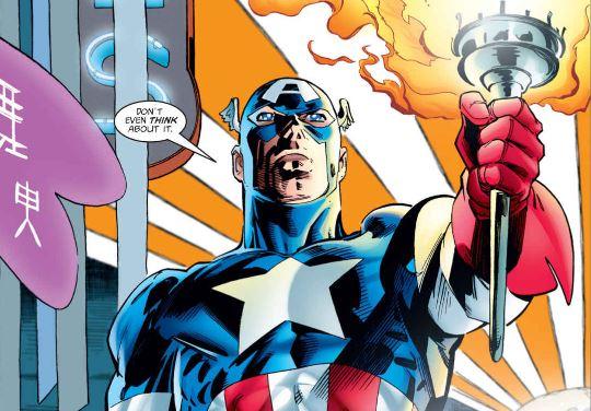 Capitán América Heroes Return