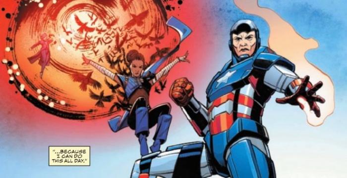 Captain America 22 Sharon Carter Iron Patriot