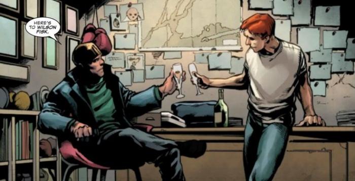 Daredevil Annual Mike Murdock Butch