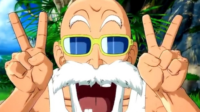 El Maestro Roshi llega a Dragon Ball FighterZ