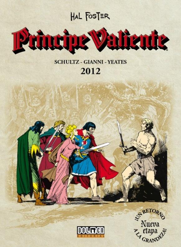 Principe Valiente 2012 Portada