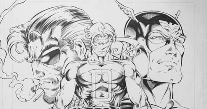 Rob Liefeld Daredevil Heroes Reborn Header