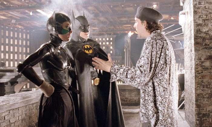 Rodaje de Batman vuelve