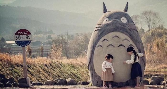 Totoro Bus Stop Header