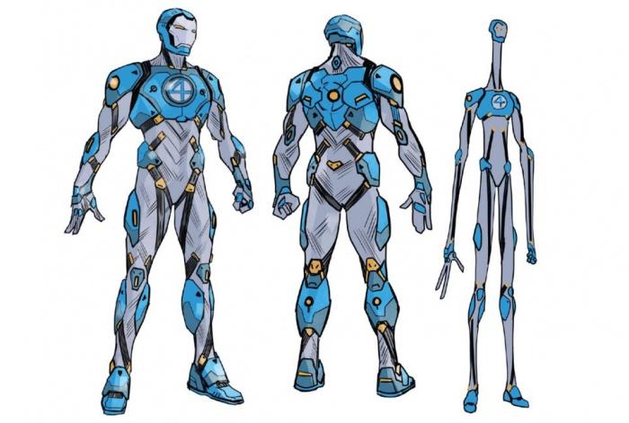 fantastic four armor concept art