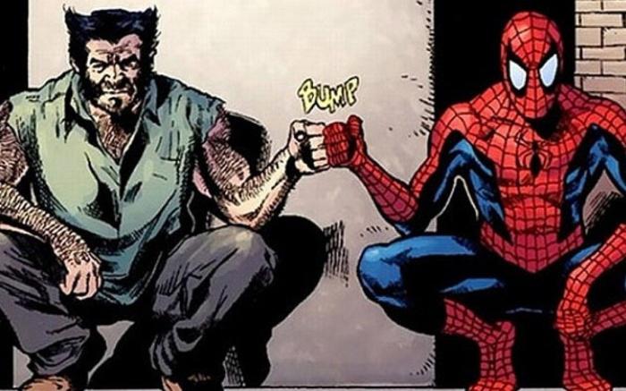 lobezno spider man