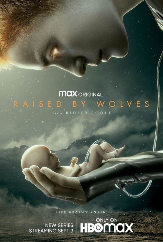 raised by wolves key art poster
