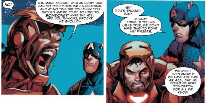 venom iron man knull celestial level threat