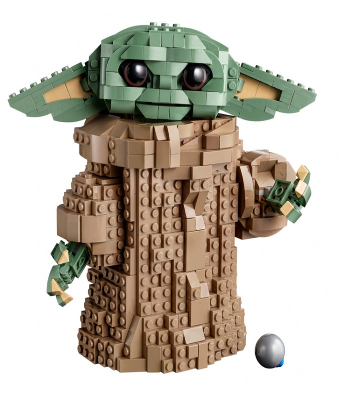 Baby Yoda Lego 1093