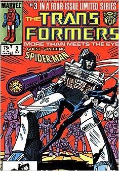 Transformers con Spiderman