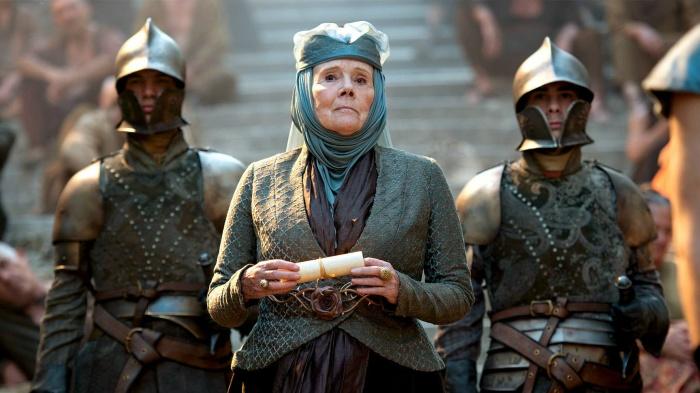 el sumario Diana Rigg actriz de GOT cumple 80 anos