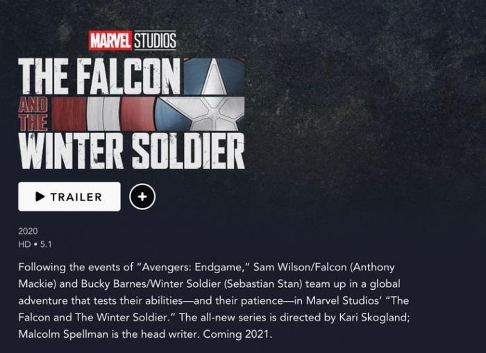 falcon winter soldier release date screen