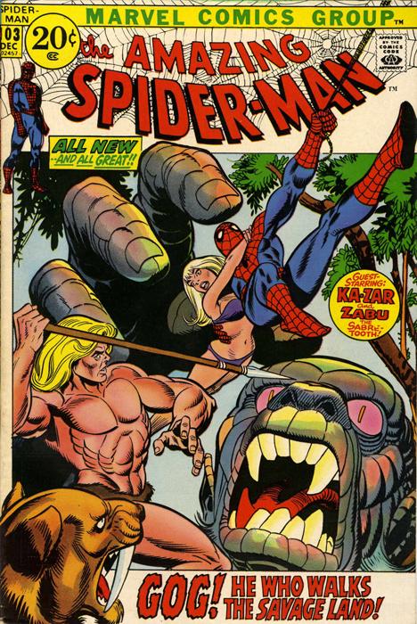 Amazing Spiderman 103