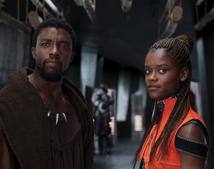Black Panther - Chadwick Boseman - Lettia Wright