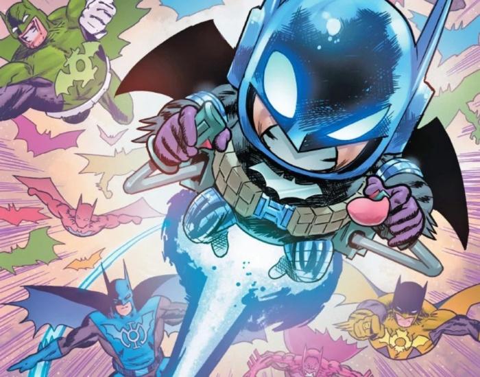 Death Metal Batman Rainbow Corps