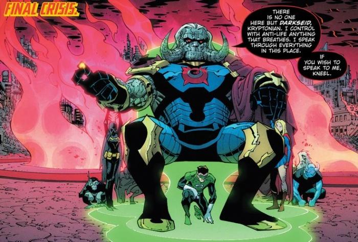 Death Metal Final Crisis Darkseid