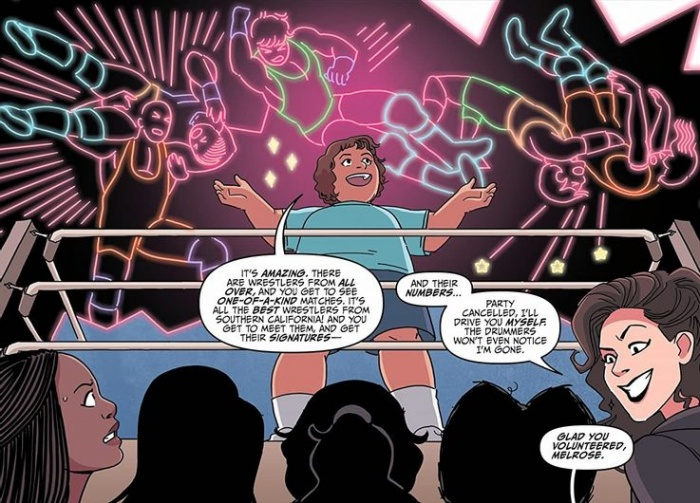 GLOW Comic Page 1