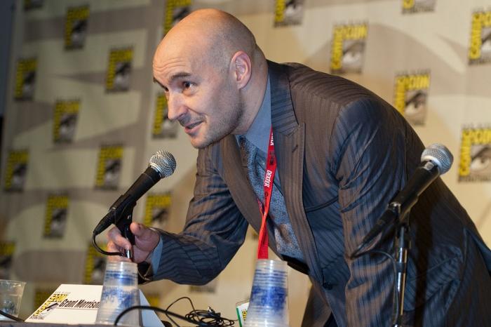 Grant Morrison at the San Diego Comic Con International California   20100623