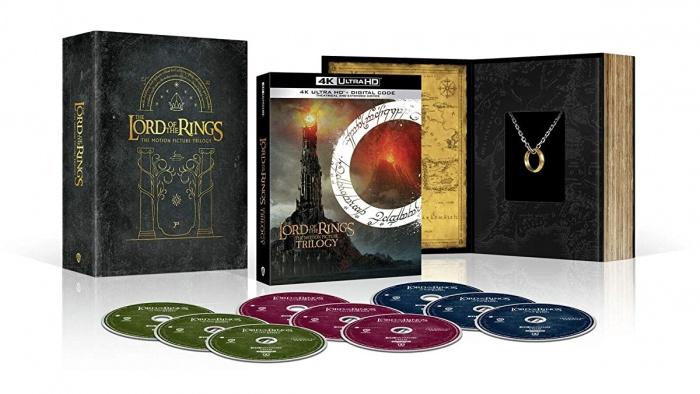 LOTR 4K Blu ray set featured