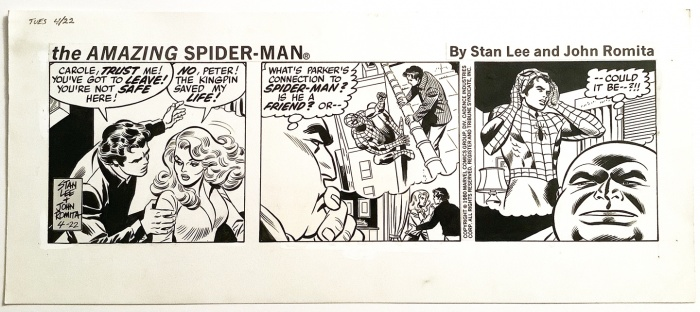 Spiderman Tiras de prensa 1