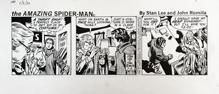 Spiderman Tiras de prensa 2