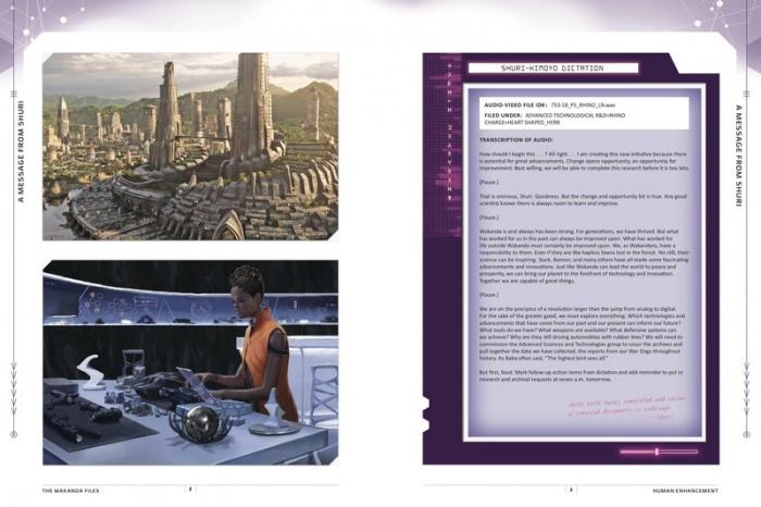 The Wakanda Files Universo Cinematografico Marvel 01