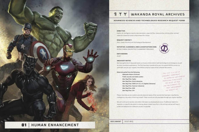 The Wakanda Files Universo Cinematografico Marvel 02