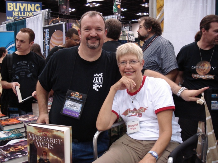 Tracy Hickman and Margaret Weis GenCon 2008