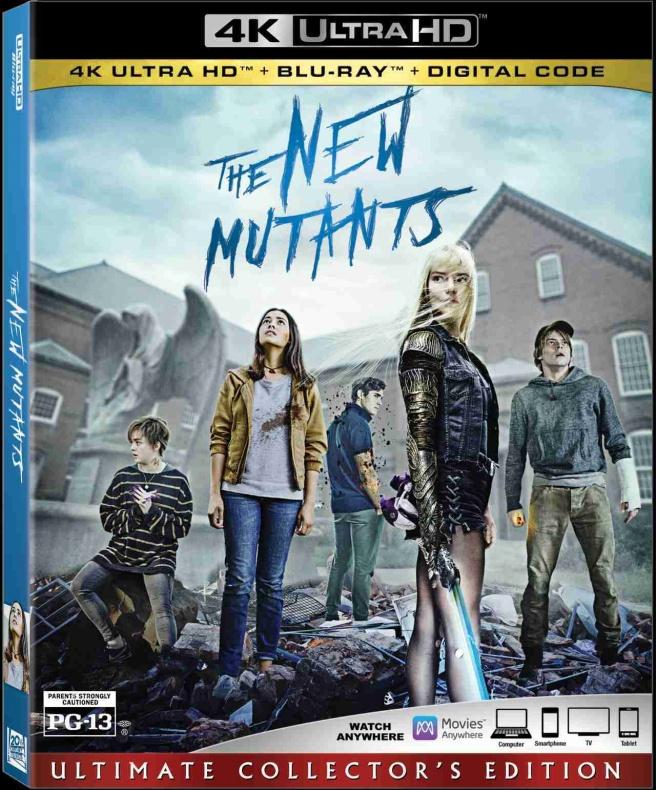new mutants movie blu ray 1239821