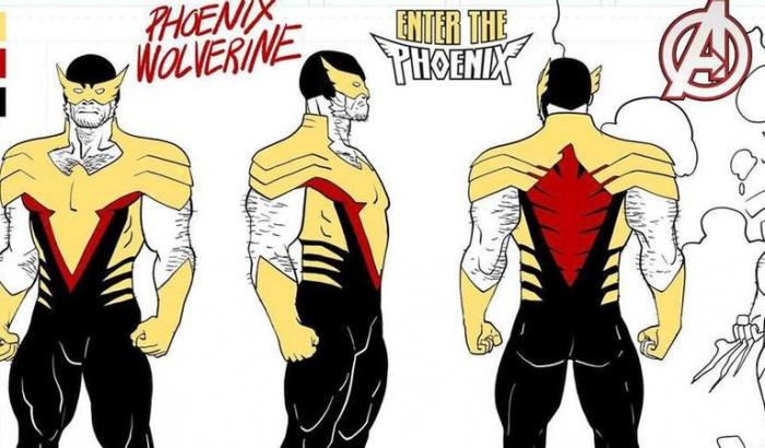 phoenix wolverine design header