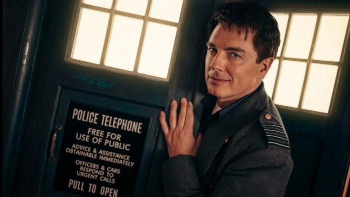 Doctor Who Captain Jack John Barrowman Revolution of the Daleks 1