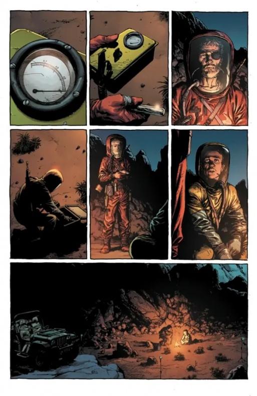 Geiger Geoff Johns Gary Frank Image Comics pagina 1
