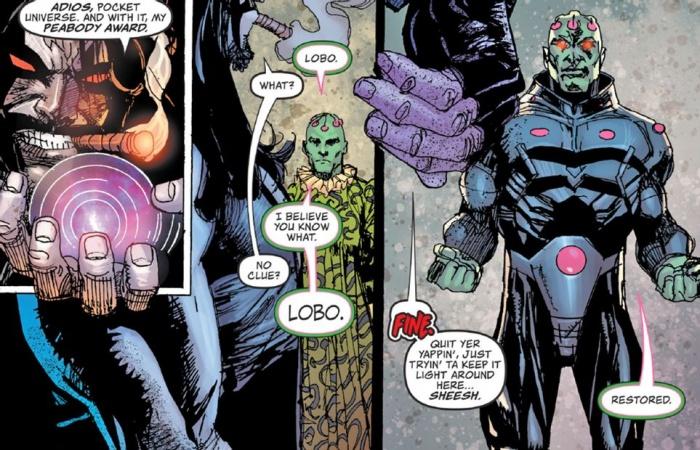 Lobo Brainiac Team