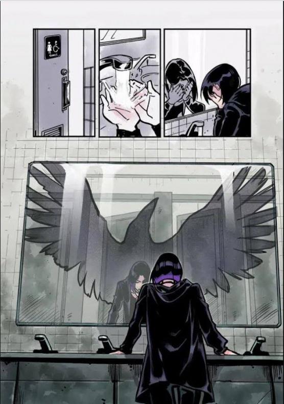 Pagina de teen titans raven
