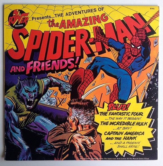 Power Records Spiderman 1