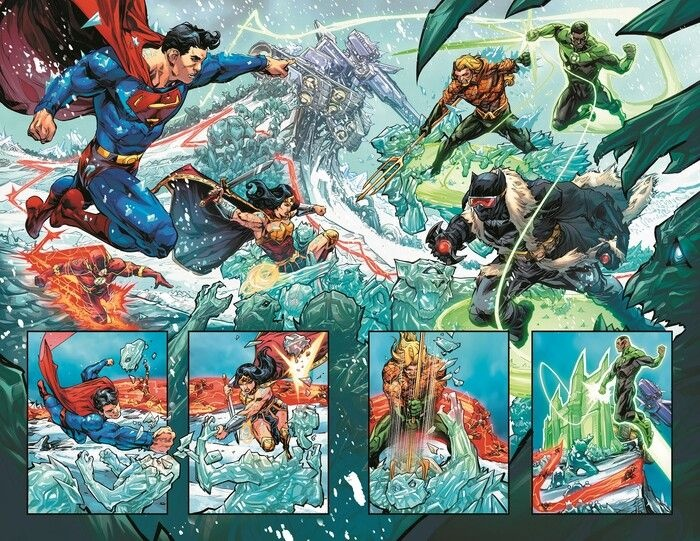 justice league endless winter 4