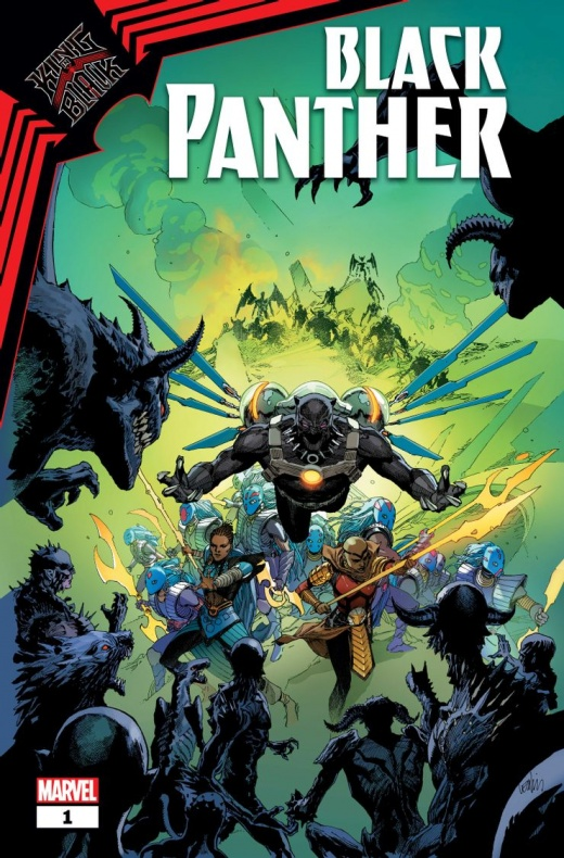 king in black black panther 1 cover