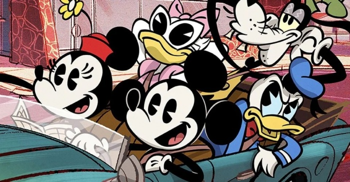 mickey mouse header