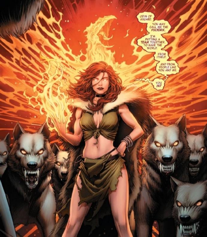 Avengers 39 Phoenix leader