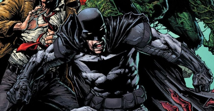 Damian Wayne Batman in DCeased