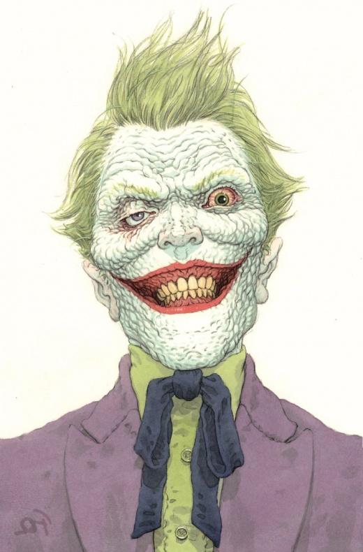 Joker 1 Variant Quitely
