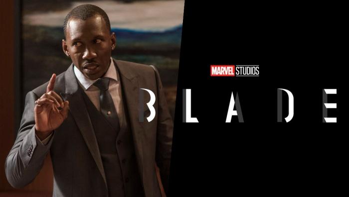 Marvel Studios BLADE with Mahershala Ali.