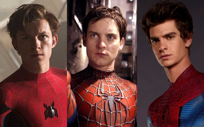 Spider-Man - Tom Holland - Tobey Maguire - Andrew Garfield