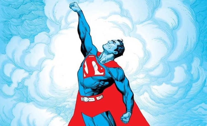 Superman Red and Blue