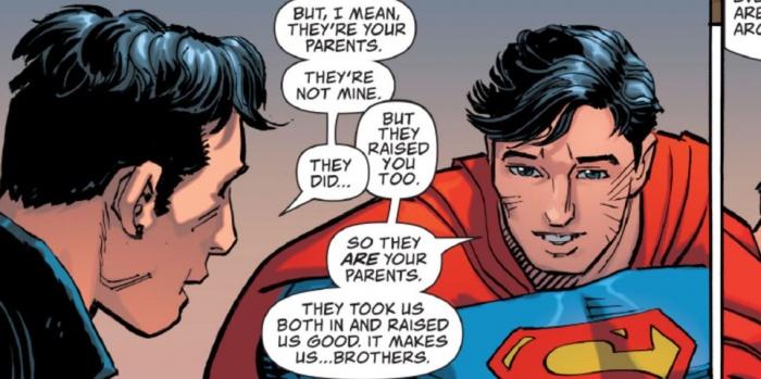 Superman Superboy Brothers