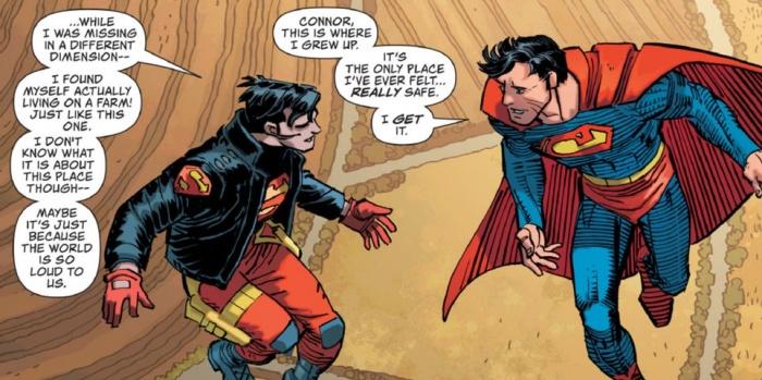Superman Superboy farm